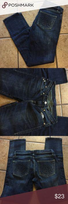 Rock and Republic Denim Rock and Republic dark blue skinny jeans.  Size 6 *** non-smoking home Rock & Republic Pants Skinny