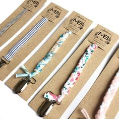 Home of the multi-functional Braided Pacifier Clip and Teether Clip – Madeline's Box, LLC Pacifier Holder, Pacifier Clips, Dummy Clips, Baby Crafts, Cool Baby Stuff, Handmade Baby, Quilt Making, Beaded Embroidery, Kids Fashion