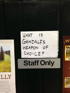 Gandalf's choice // funny pictures - funny photos - funny images - funny pics - funny quotes - #lol #humor #funnypictures