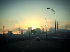 Foggy New Orleans morning by Melanie Starr