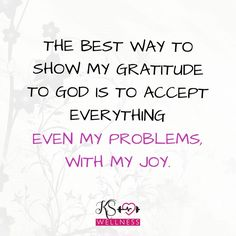 Happy Sunday!! This is my way to show the Gratitude! What's yours?