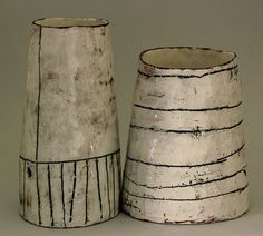 Ceramics by Maria Kristofersson at Cave Interiors - # . Ceramic by Maria Kristofersson at Cave Interiors – Kintsugi, Raku Pottery, Pottery Art, Ceramic Pots, Ceramic Clay, Earthenware, Stoneware, Vase Noir, Keramik Design