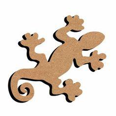 Gecko en bois   DeSerres