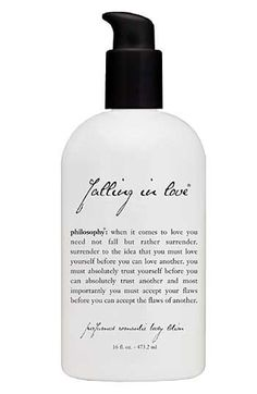philosophy 'falling in love' perfumed body lotion available at #Nordstrom