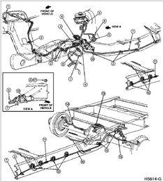 ford    f150 engine    diagram    1989   1994    Ford    F150 XLT 50
