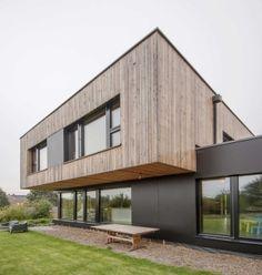 Maison cubique écologique