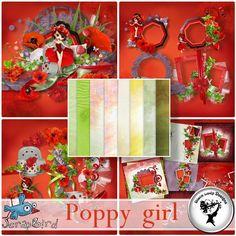 Poppy girl - Full pack by Black Lady Designs