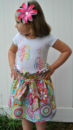 Millie Skirt by KSMonkeys on Etsy, $25.00