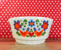 Vintage bowl VEB Torgau form Heike 2  Mid by Retromania1331 must find