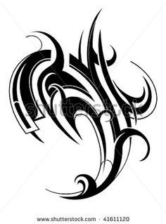 Tattoo London Ink 2011 Heart Tribal Mens Back Tattoos