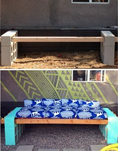 20 gorgeous ideas to make your garden look like a paradise Outdoor Furniture, Outdoor Decor, Ideas Para, Entryway Tables, Crafty, Make It Yourself, Creative, Diy, How To Make
