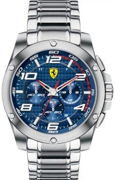 Scuderia Ferrari 0830036 Mens SF104 Paddock Watch