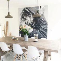 Home #goals via @ixxiyourworld #interior #interiordesign #homedecor #homedesign #decor #decoration #instahome #diningroom #scandinaviandesign