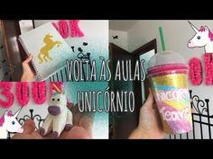 DIY MATERIAL MÁGICO DE UNICÓRNIO | Back to School Unicorn. Ft: Eduardo W...