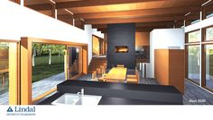 A great Lindal Architects Collaborative design from Sierra Gate Homes in Ottawa, ON