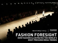 The report covers a number of MegaTrends and shows how fashion can function as a bellwether to understand cultural shifts. It looks, for example, at how changing gender norms are predicted in fashion. As the number of fathers who stay home with their kids has doubled since 1989, so the growth of menswear has outpaced that of womenswear for the past 5 years.