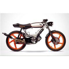 """#honda#77#PA50III#moto#motorcycle#motocustomizada#motohonda#motocustom#oldschool#instacool#instamoto#caferacer"""