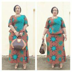 Malian Fashion wax #Malifashion #wax #malianwomenarebeautiful #dimancheabamako