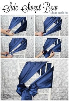 Voici comment décorer une chaise pour une cérémonie laïque ! #Mariage #Décoration #CérémonieLaique