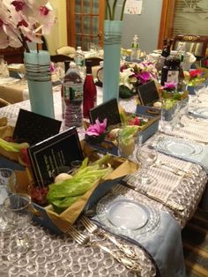 27 best Passover Tablescapes images on Pinterest | Table settings ...
