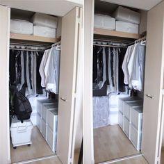media-18 Organization, Closet, Home Decor, Getting Organized, Homemade Home Decor, Organisation, Armoire, Cabinet, Closets