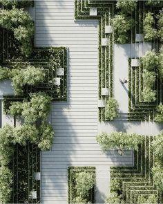 #architecture_hunter  Magic Breeze Landscape Design  By Penda Architects