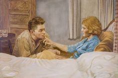 """Saatchi Art Artist eoin llewellyn; Painting, """"The Patient (private collection Germany)"""" #art"""