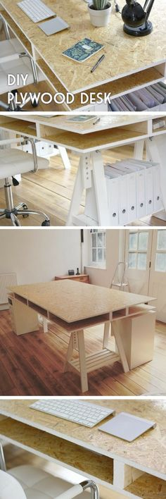 Check out the tutorial how to build a cheap and easy DIY desk @istandarddesign