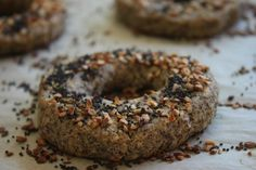 Delighted Momma: Flourless Low Carb Bagels - This might be nice if I had people spend the night and need normal people breakfast, though I like the old stand by of eggs...I would want to add something to flavor them, though, like berries or peanut butter...yum!