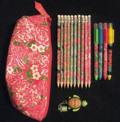 Lilly Pulitzer school supplies!