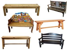 The World Of Wonderful Mexican Wood Benches!
