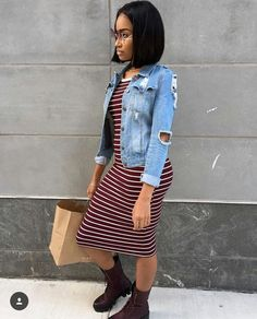 The Dress, Jacket, And Timbs