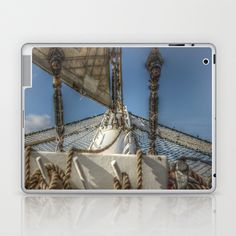 With the Wind Laptop & iPad Skin by Angelika Kimmig - $25.00