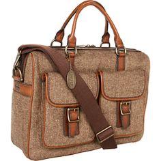 Fossil Estate Top Zip Work Bag