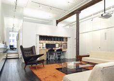 Лофт площадью 300 кв. метров в Нью-Йорке