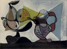 Pablo Picasso. Still Life with Fruit, 1939