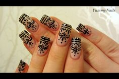 Henna Nails by Yummy Nails