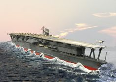 Japanese Aircraft Carrier Akaki