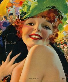 Queen of the Ball by Rolf Armstrong for The Shrine Magazine Rolf Armstrong, Josephine Wall, Vintage Posters, Vintage Art, Vintage Ladies, Vintage Woman, Vintage Glam, Estilo Pin Up, Portraits