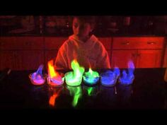 5th grade science project rainbow flame-any of my Brownie parents looking at this we are not going to try it, I just think it's cool :)