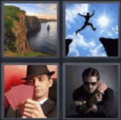 4 pics 1 word web address blue doors speaker entrance mail box 4 pics 1 word cliff with water person jumping between cliffs poker player expocarfo Choice Image