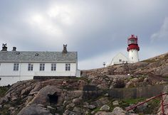 A Day At Lindesnes Lighthouse Nordic Home, Lighthouses, Norway, Day, Blog, Lighthouse, Landscape, Light Fixtures, Blogging