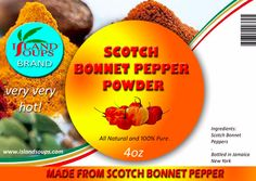 If you like pepper...it doesn't get any hotter than this.  @islandsoups, www.islandsoups.com Scotch Bonnet Pepper, Spice Things Up, Spices, Favorite Recipes, Stuffed Peppers, Pure Products, Hot, Stuffed Pepper