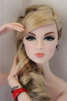 Fashion Couture Doll. repaint art doll barbie