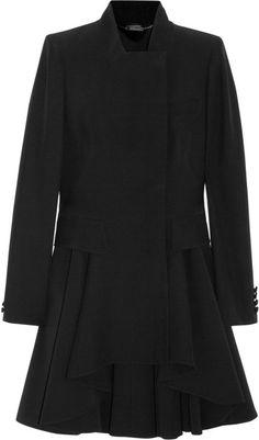 Alexander Mcqueen Crepe Frock Coat - Lyst Yes please. Victor Hugo, Alexander Mcqueen Clothing, Frock Coat, Frocks, What To Wear, Big Chill, Mc Queen, Magpie, 21st Century