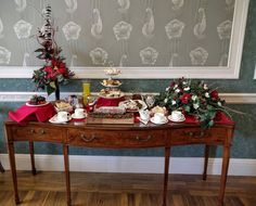Christmas afternoon tea 12th-22nd December