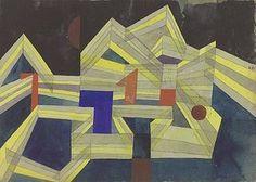 Paul Klee: Architektur, transparent-strukturell