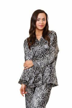 4991a0392e Women s Classic Animal Print Pajama Set in 5 Prints