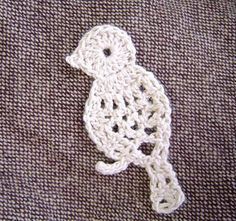 Ravelry: Small bird motif pattern by Chinami Horiba