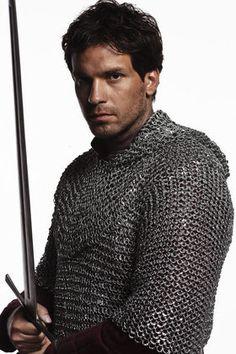 "Santiago Cabrera as Lancelot from BBC's ""Merlin"""